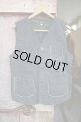 【DALEE'S MENDERS 20s Operate Vest (US.BLACK)】