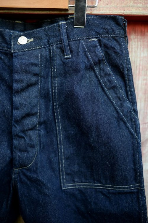 他の写真3: 【 DELUXEWARE DX100B DENIM SHORT BOTTOM (インディゴ)】