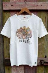 【FREE RAGE リサイクルコットンTシャツ(TheBigTen/ホワイト)】
