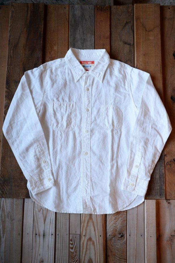 画像2: 【UES ワークシャツ(ホワイト)】