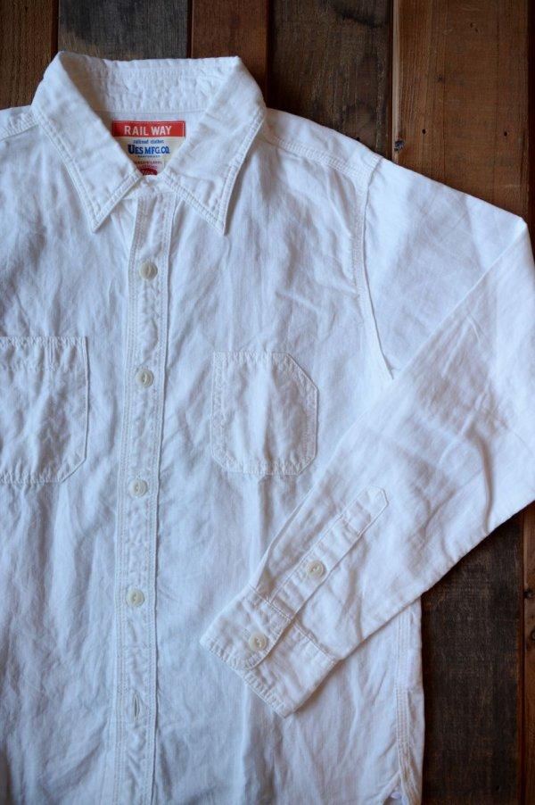 画像1: 【UES ワークシャツ(ホワイト)】