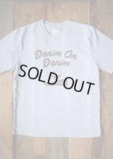 【DENIM ON DENIM 2018 限定オリジナルTシャツ(パターン/お茶碗)☆ご注文締切3月21日まで☆】