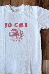 【 UES Tシャツ SO CAL(ホワイト×レッド)】